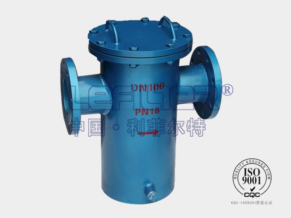 高精度管道过滤器直通式蓝式过滤器