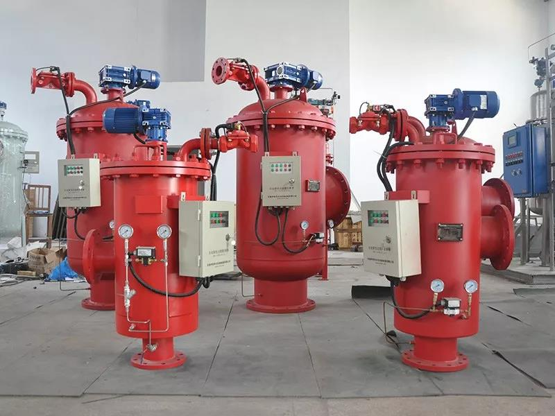 钢厂循环水过滤案例分析—自清洗过滤器