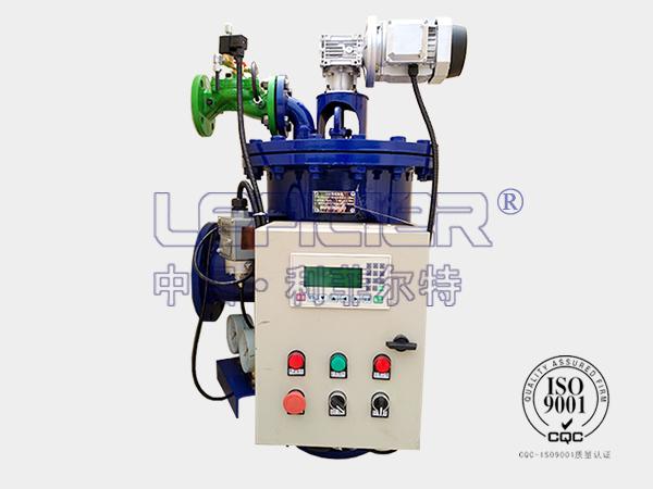 自清洗过滤器于主轴密封供水系统的实践