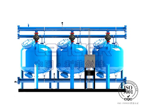 工业循环水过滤浅层砂过滤器