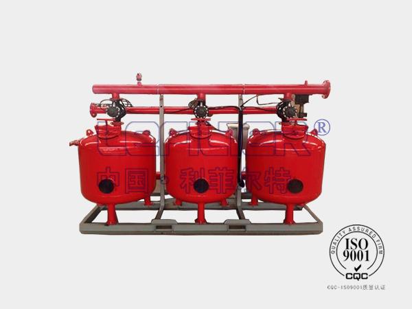 电厂工业循环水LFQ-600浅层砂过滤器