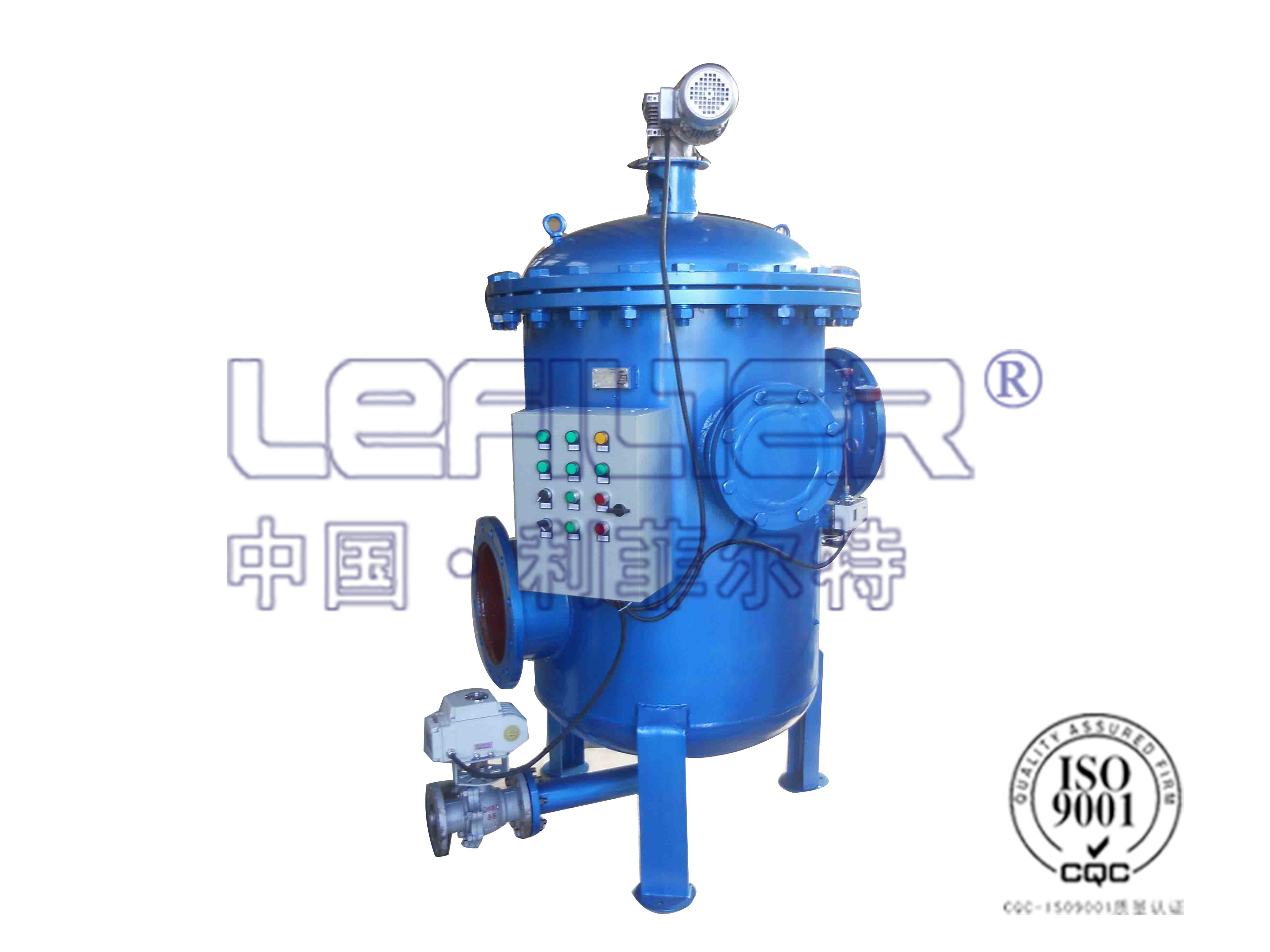 电厂锅炉高纯水制备多柱式自清洗过滤器