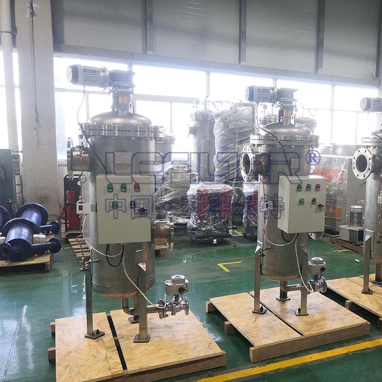 发动机制造冷却液自清洗过滤器